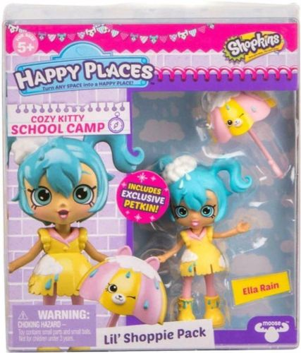 Shopkins Happy Places Lil' Shoppie Pack - Ella Rain